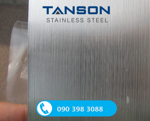 Cuộn inox 316/316L HL-Độ dày: 0.6mm-0.7mm-0.8mm