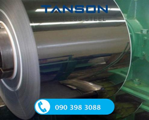 Cuộn inox 201 No.8-Độ dày: 0.3mm-0.4mm-0.5mm