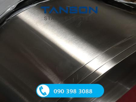 Cuộn inox 304/304L No.4-Độ dày: 0.6mm-0.7mm-0.8mm