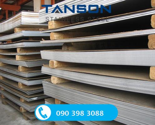 Tấm inox 304/304L No.8-Độ dày: 0.3mm-0.4mm-0.5mm