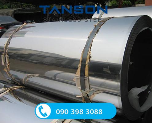 Cuộn inox 304/304L BA-Độ dày: 0.3mm-0.4mm-0.5mm