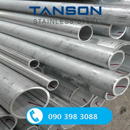 Ống công nghiệp hàn inox 304/ 304L-Độ dày: SCH80
