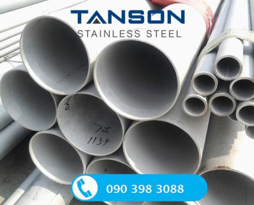 Ống công nghiệp đúc inox 304/304L-Độ dày: SCH40