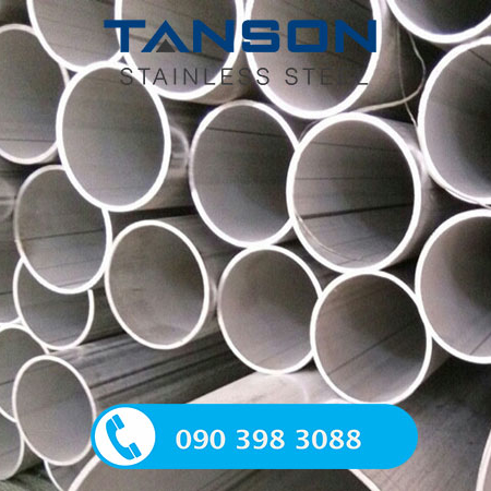 Ống công nghiệp hàn inox 201-Đường kính: từ Ø 48.16-Ø 114.30