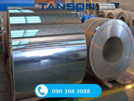 Cuộn inox 201 BA-Độ dày: 0.6mm-0.7mm-0.8mm