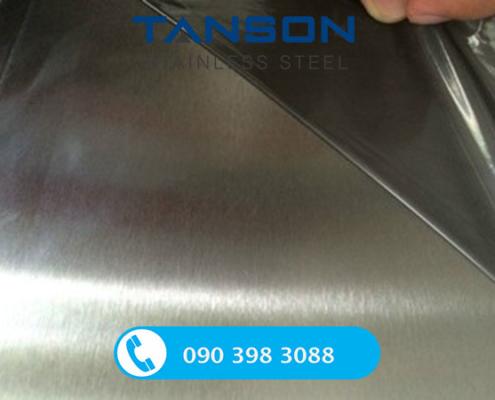 Tấm inox 430 No.4-Độ dày: 0.6mm-0.7mm-0.8mm