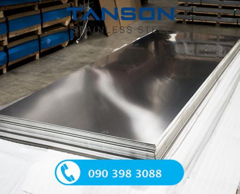 Tấm inox 201 BA-Độ dày: 0.3mm-0.4mm-0.5mm