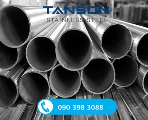 Ống công nghiệp hàn inox 304/304L-Độ dày: SCH80