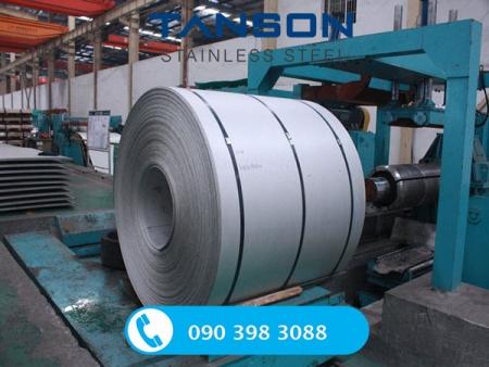 Cuộn inox 316/ 316L 2B-Độ dày: 2mm-3mm-4mm-5mm-6mm