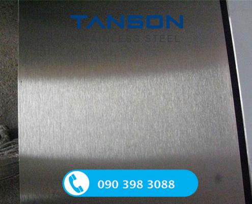 Tấm inox 304/304L No.4-Độ dày: 1mm-1.2mm-1.5mm