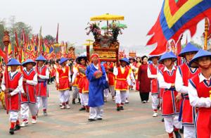 Lễ hội ngày Giỗ tổ Hùng Vương